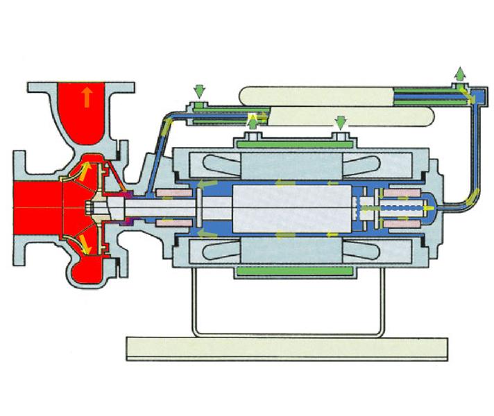 高温分离型屏蔽电泵
